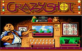 In game image of Crazy Shot on the Atari ST.