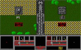 In game image of Cyber Empires on the Atari ST.