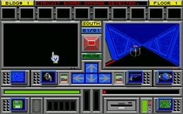 In game image of Day of the Viper on the Atari ST.