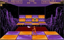 In game image of Disc on the Atari ST.