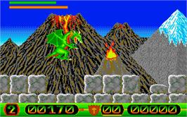 In game image of Dragon Lord on the Atari ST.