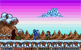 In game image of Elf on the Atari ST.