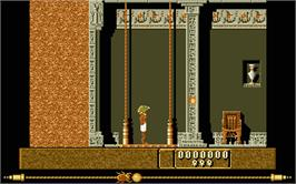 In game image of Eye of Horus on the Atari ST.