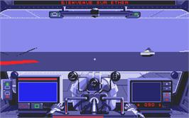 In game image of Galactic Empire on the Atari ST.