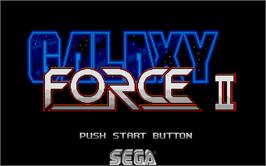 In game image of Galaxy Force 2 on the Atari ST.