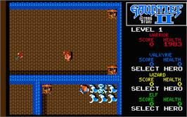 In game image of Gauntlet II on the Atari ST.