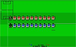 In game image of Goal on the Atari ST.