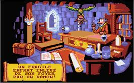 In game image of Gobliins 2: The Prince Buffoon on the Atari ST.