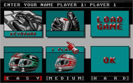 In game image of Grand Prix 500 2 on the Atari ST.