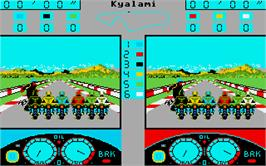 In game image of Grand Prix 500 cc on the Atari ST.