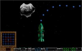 In game image of Greystone on the Atari ST.