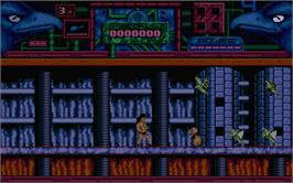 In game image of Hawkeye on the Atari ST.
