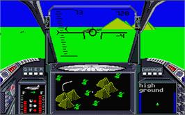 In game image of High Roller on the Atari ST.