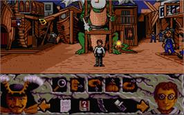 In game image of Hook on the Atari ST.