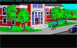 In game image of Indiana Jones and the Last Crusade: The Graphic Adventure on the Atari ST.