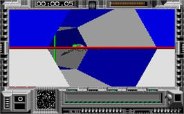 In game image of Interphase on the Atari ST.