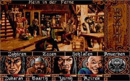 In game image of Ishar 3: The Seven Gates of Infinity on the Atari ST.