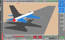 In game image of Jet on the Atari ST.