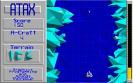 In game image of Klax on the Atari ST.