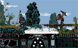 In game image of Knight Orc on the Atari ST.
