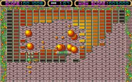 In game image of Krypton Egg on the Atari ST.