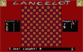 In game image of Lancelot on the Atari ST.