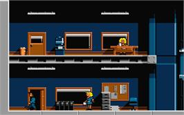 In game image of Lethal Weapon on the Atari ST.