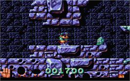In game image of Magic Pockets on the Atari ST.
