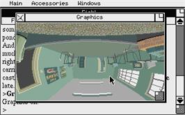 In game image of Magnetic Scrolls Collection on the Atari ST.