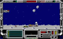 In game image of Moonmist on the Atari ST.