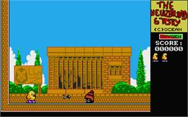 In game image of New Zealand Story on the Atari ST.