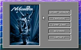 In game image of No Second Prize on the Atari ST.