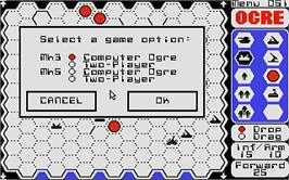 In game image of Ogre on the Atari ST.