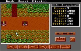 In game image of Paladin on the Atari ST.