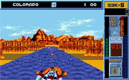 In game image of Pandora on the Atari ST.