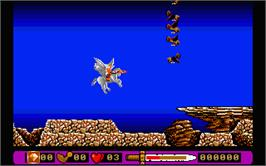 In game image of Pegasus on the Atari ST.