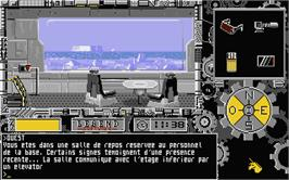 In game image of Portes du Temps on the Atari ST.