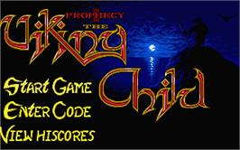 In game image of Prophecy 1: The Viking Child on the Atari ST.