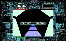 In game image of Psyborg on the Atari ST.
