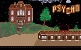 In game image of Psycho on the Atari ST.