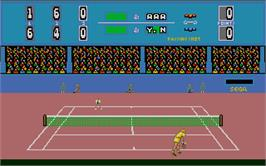In game image of Push 'n' Shove on the Atari ST.