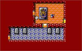 In game image of Rana Rama on the Atari ST.