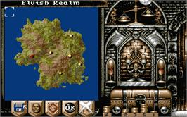 In game image of Realms on the Atari ST.