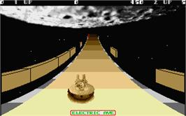 In game image of RoadWars on the Atari ST.