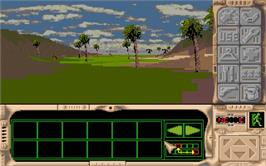 In game image of Robinson's Requiem on the Atari ST.