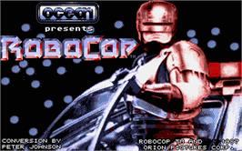 In game image of Robocop on the Atari ST.