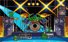 In game image of Rock 'n Roll on the Atari ST.
