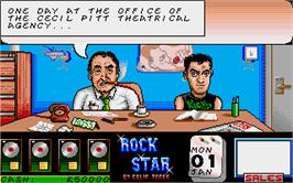 In game image of Rock Star Ate my Hamster on the Atari ST.