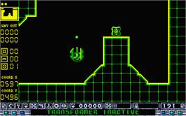 In game image of Rotor on the Atari ST.