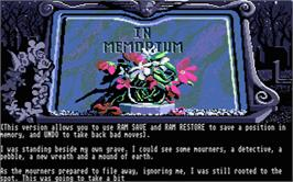 In game image of Scapeghost on the Atari ST.